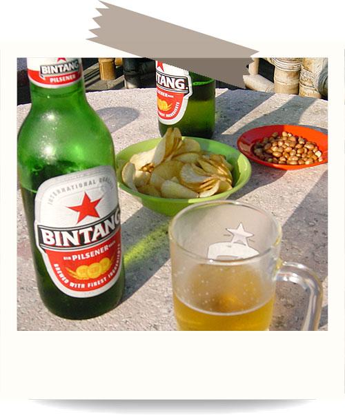 バリ島はビンタンビール